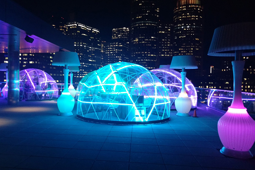 Eater Boston Features The Envoy's Rooftop Igloos