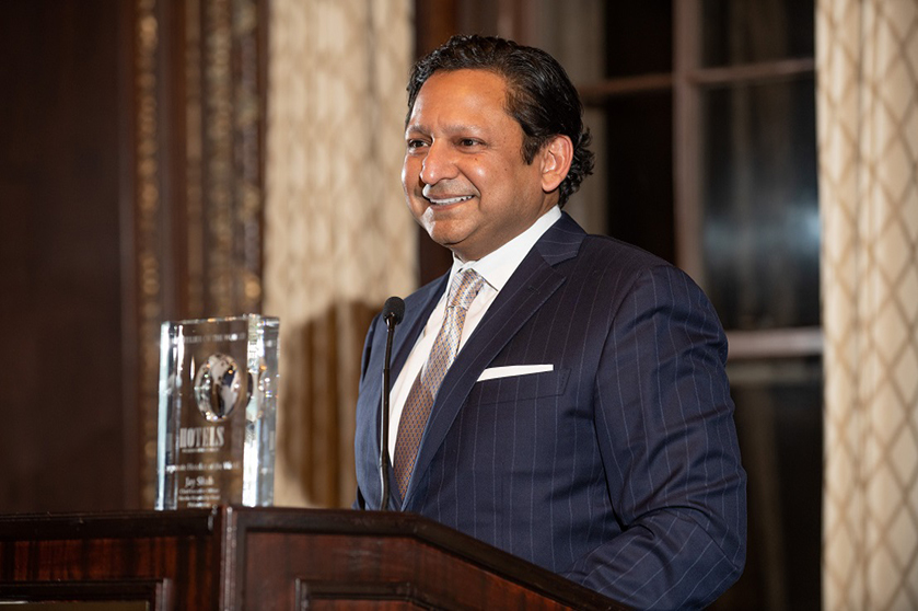 Jay Shah Named Hotelier Of The World
